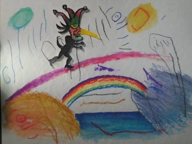 rainbow walk still