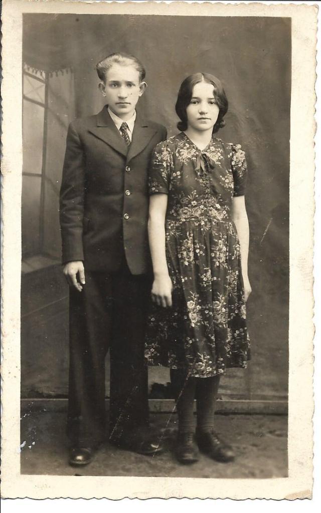 Azriel & Leah (Nephew & Niece) - 1938.jpg