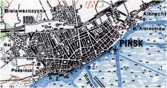 Pinsk Street Map - circa 1925.png