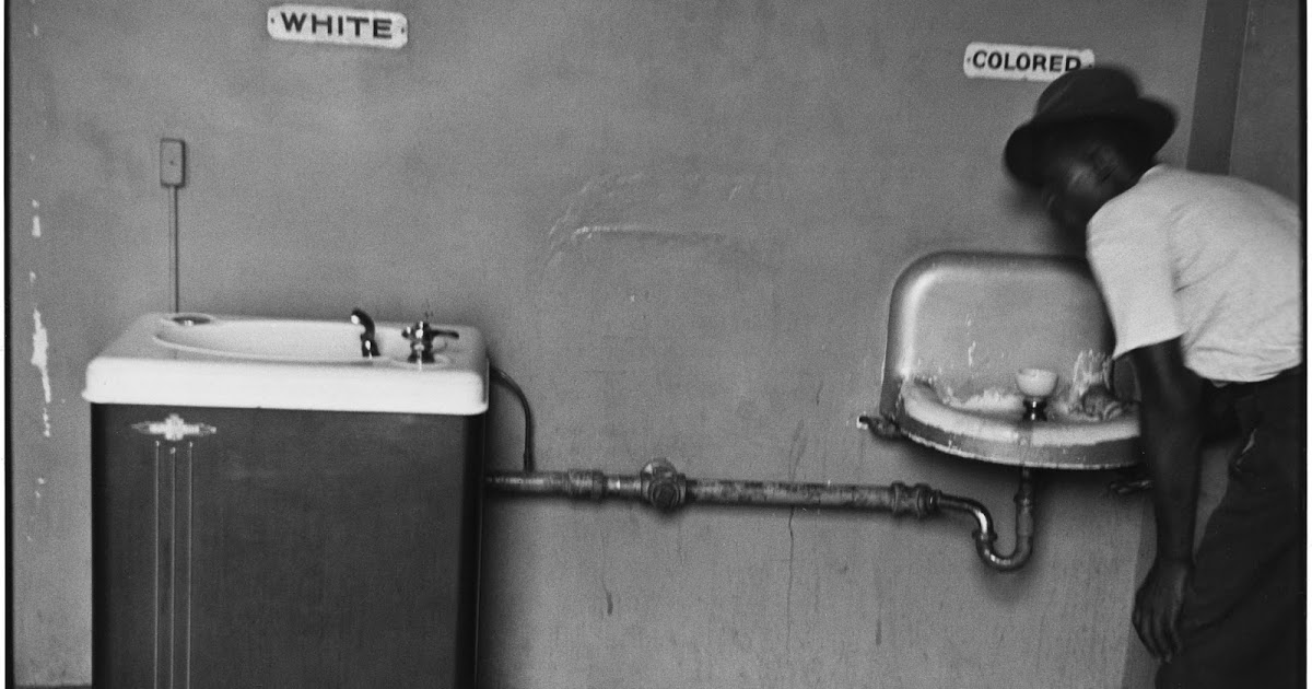 Segregated Water Fountains in North Carolina, 1950 ~ Vintage Everyday